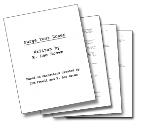 Sample Script Page